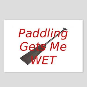 PaddlingGetsMeWet Postcards (Package of 8)