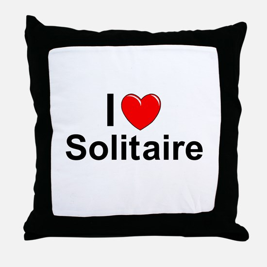 Solitaire Throw Pillow