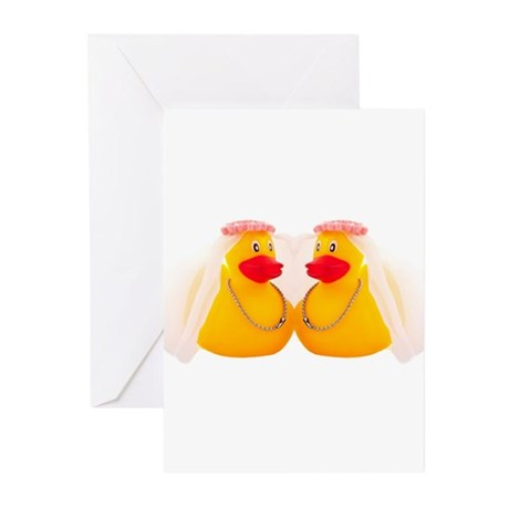 DUCK BRIDES Greeting Cards (Pk of 10)