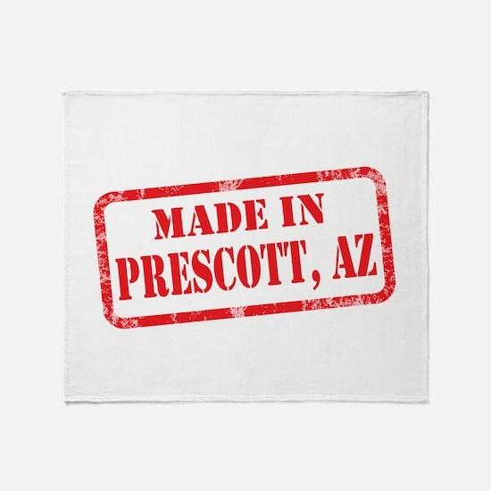 MADE IN PRESCOTT, AZ Throw Blanket