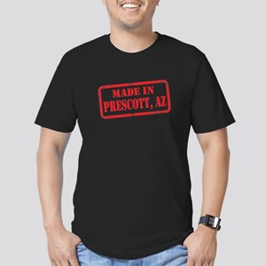 MADE IN PRESCOTT, AZ Men's Fitted T-Shirt (dark)