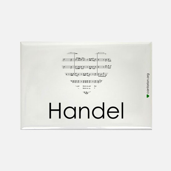 Handel Fridge Magnet