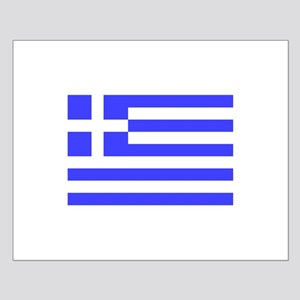 Greek Flag Small Poster