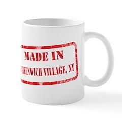 MADE IN GREENWICH VILLAGE, NY Mug