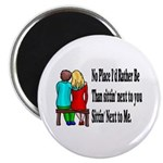 """Next to You 2.25"""" Magnet (10 pack)"""