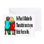Next to You Greeting Card