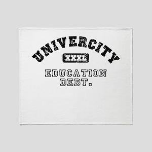 Univercity Throw Blanket