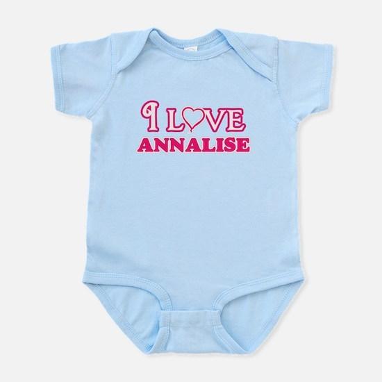 I Love Annalise Body Suit