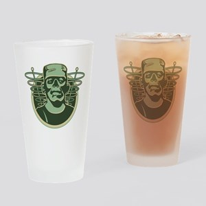 Retro Frankenstein Drinking Glass