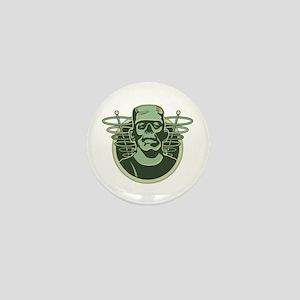 Retro Frankenstein Mini Button