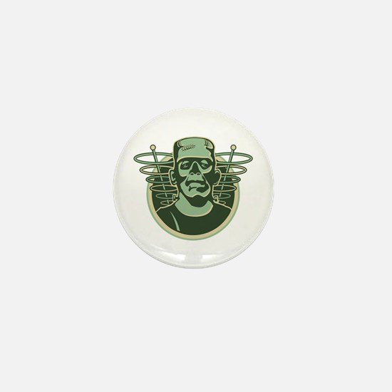 Retro Frankenstein Mini Button