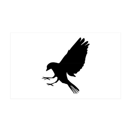 Bird 38.5 x 24.5 Wall Peel
