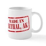 MADE IN BETHAL, AK Mug
