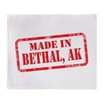 MADE IN BETHAL, AK Throw Blanket