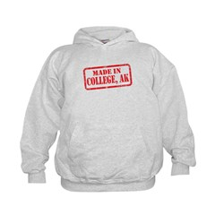 MADE IN COLLEGE, AK Hoodie