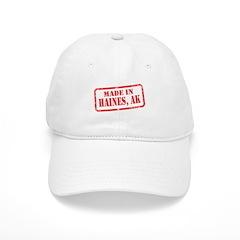 MADE IN HAINES, AK Baseball Cap