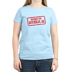 MADE IN KETCHIKAN Women's Light T-Shirt