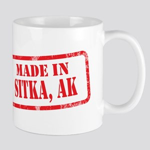 MADE IN SITKA, AK Mug