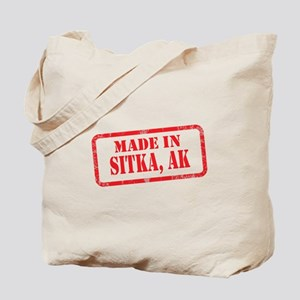 MADE IN SITKA, AK Tote Bag