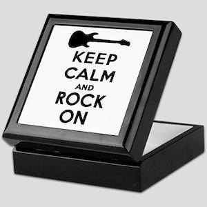 ROCK ON Keepsake Box
