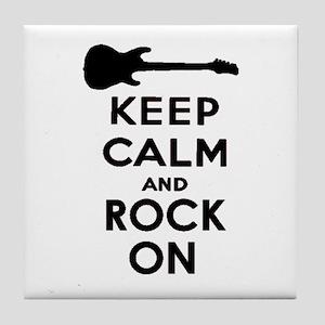 ROCK ON Tile Coaster