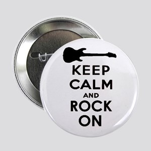 "ROCK ON 2.25"" Button"