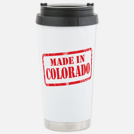 MADE IN COLORADO Stainless Steel Travel Mug
