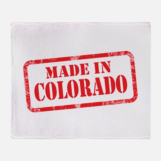 MADE IN COLORADO Throw Blanket