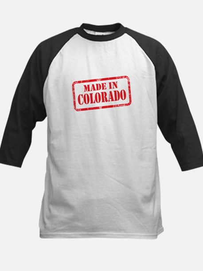 MADE IN COLORADO Kids Baseball Jersey