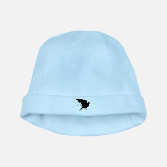 Grunge Bird baby hat