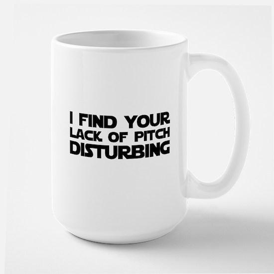 Lack of Pitch Large Mug