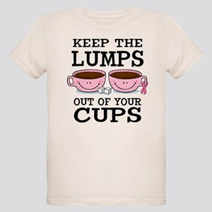 Lumps Out of Cups Organic Kids T-Shirt