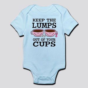 Lumps Out of Cups Infant Bodysuit