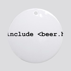 #include <beer.h> Ornament (Round)