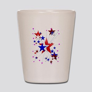 Amercian Stars Shot Glass