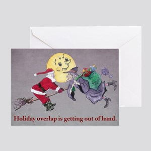 Christmas Overlap Greeting Card