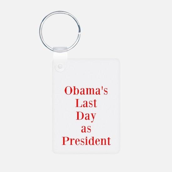 1/20/2013 - Obama's last day Keychains