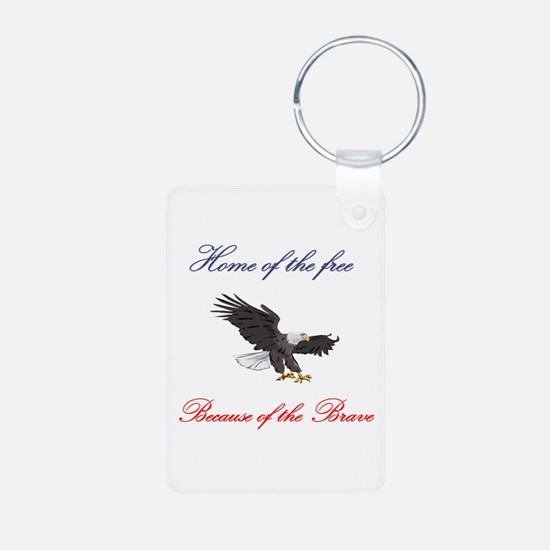 Home of the free... Keychains