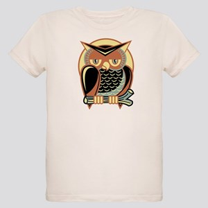 Retro Owl Organic Kids T-Shirt