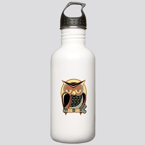 Retro Owl Stainless Water Bottle 1.0L