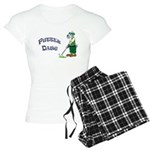 Golf Putter Dog Women's Light Pajamas