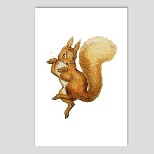 Squirrel Nutkin Postcards (Package of 8)