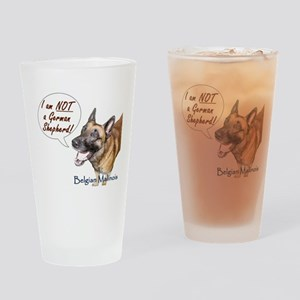 I'm NOT a GSD Drinking Glass