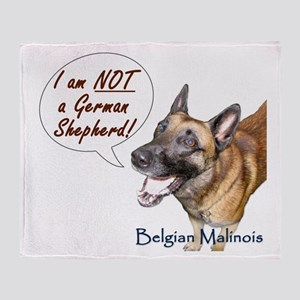 I'm NOT a GSD Throw Blanket