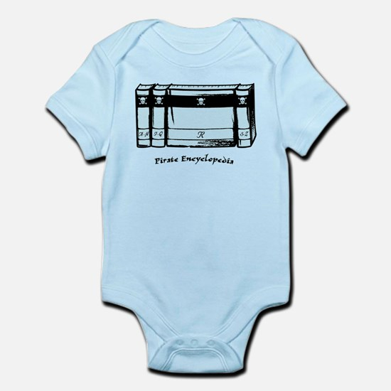 Pirate Encyclopedia Infant Bodysuit