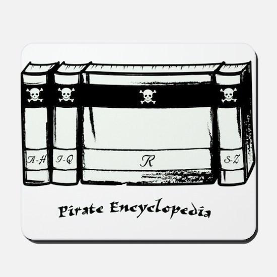Pirate Encyclopedia Mousepad
