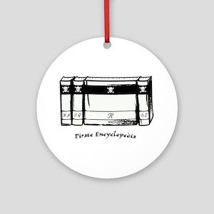 Pirate Encyclopedia Ornament (Round)