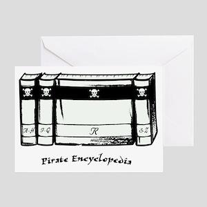 Pirate Encyclopedia Greeting Card