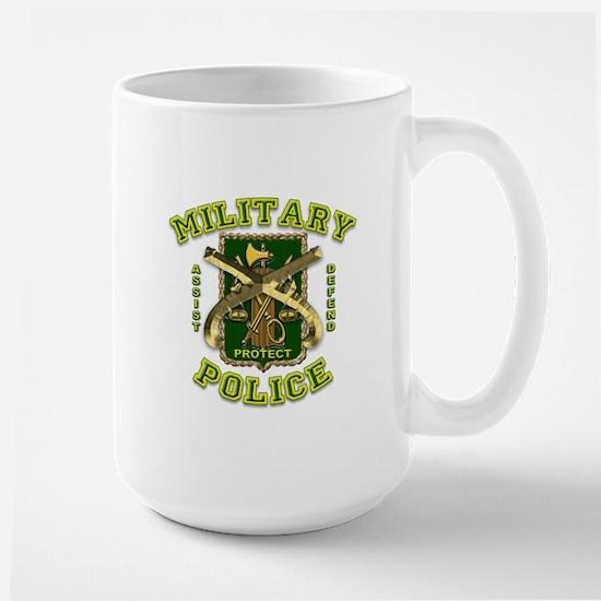 US Army Military Police Gold Large Mug