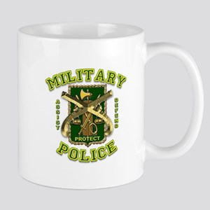 US Army Military Police Gold Mug